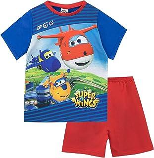 Super Wings Boys Pyjamas Girls Kids Pjs Ages 2 3 4 5 Years