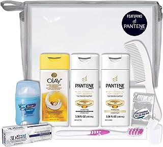 کیت Deluxe 10Piece زنان کیت راحت ، شامل: محصولات مو Pantene