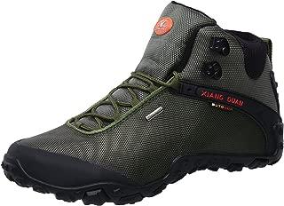 Men's Outdoor High-Top Oxford Water Resistant Trekking Hiking Boots