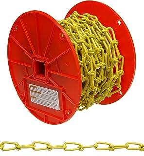 16 Trade 0.06 Diameter x 100 Length Brass 8 lbs Working Load Limit ASC MC22160601 Low Carbon Steel Single Jack Chain