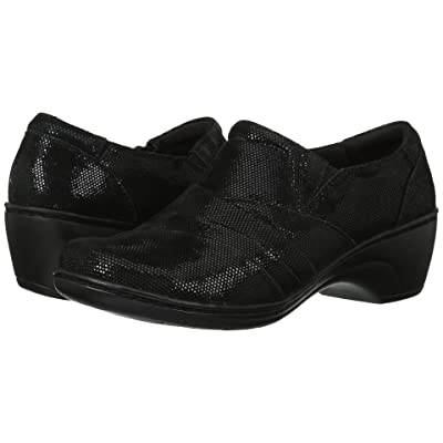 Clarks Channing Kim (Black Lizard) Women