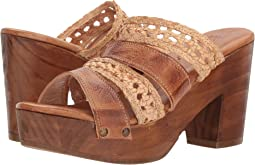 Tan Rustic/Bone Rustic Leather