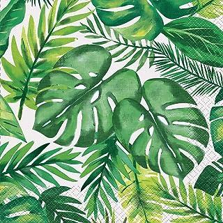 Unique Party 72672 - Tropical Luau Paper Napkins, Pack of 16