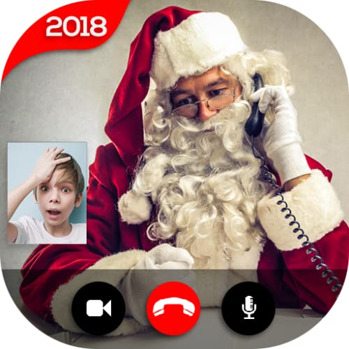 Real Santa Claus Video Call - Free Fake Phone Call And Free Fake Text Message ID PRO 2020 - PRANK FOR KIDS
