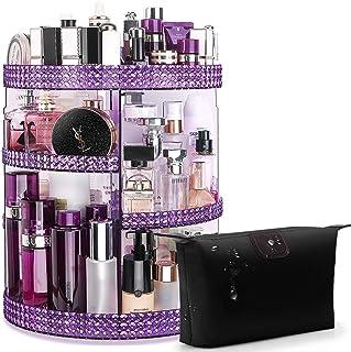 منظم أدوات التجميل من شركة أوينيا يدور 360 درجة، تخزين مكياج قابل للتعديل، سعة كبيرة 7 طبقات، تناسب أنواع مختلفة من مستحضر...