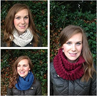 easy snood knitting pattern