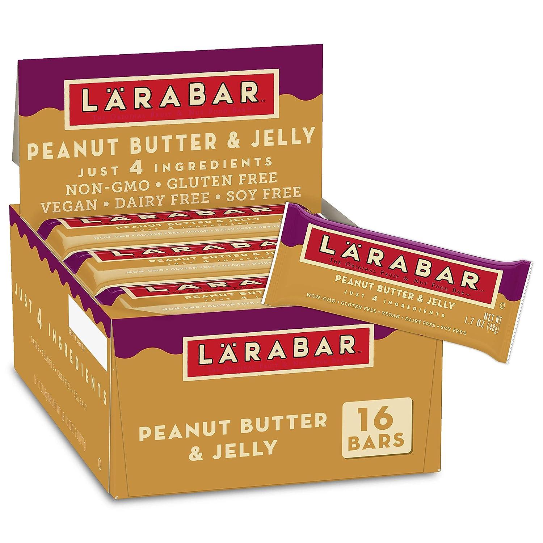 Larabar Peanut Butter and Jelly Store Gluten Vegan Nut Topics on TV Fruit Free B