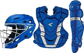Easton Gametime Catchers Equipment Box Set | 2020 | Helmet | Chest Protector | Leg Guards | Baseball Softball | NOCSAE Approved for All Levels of Play