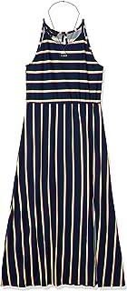 فستان لل نساء مقاس L , اسود - فساتين عملية كاجوال