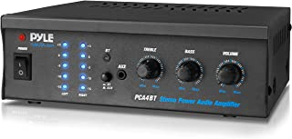 Bluetooth Audio Speaker Power Amplifier - Portable Dual Channel Surround Sound Stereo Receiver - for Amplified Subwoofer S...