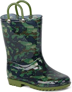 Lilly of New York Children's Rain Boots for Little Kids & Toddlers, Boys & Girls