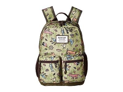 Burton Kids Gromlet Pack (Little Kid/Big Kid) (Campsite Critters Print) Backpack Bags