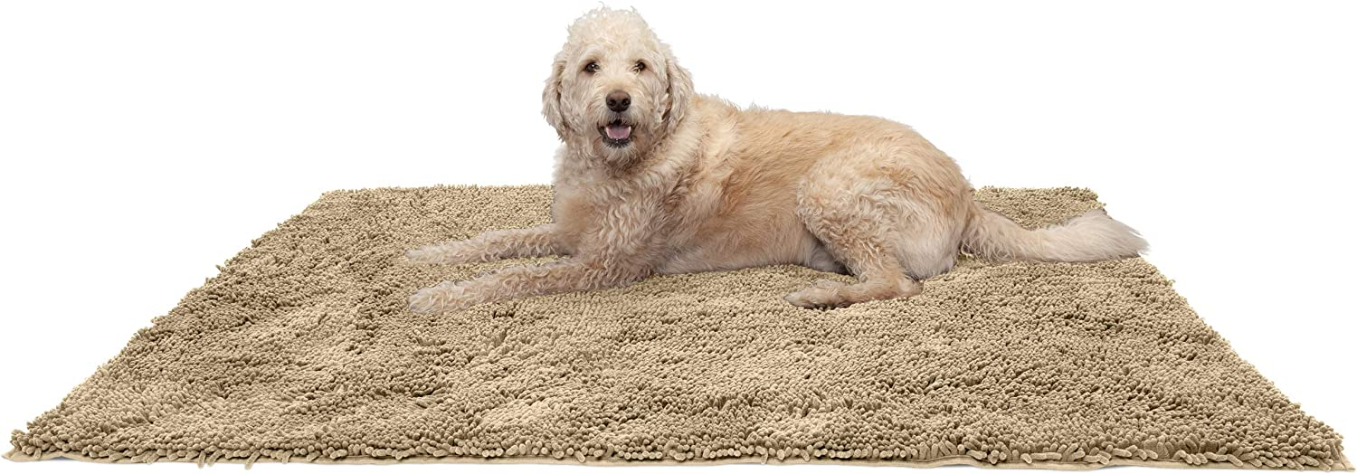 Furhaven Pet Bed Mat for Dogs 5% OFF Sacramento Mall and Cats Muddy Ch Absorbent - Paws