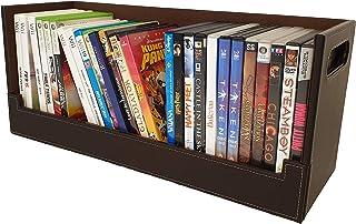 Caja Almacenamiento DVDs Estilo y diseño Atractivo | Magnética | Apilamiento Seguro | Más de 30 DVDs BLU-Ray o 90 CDs: par...