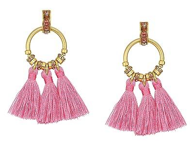 J.Crew Tiki Tassel Earrings (Dusty Begonia) Earring