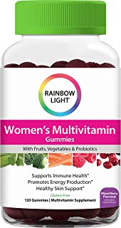 Rainbow Light Women's Multivitamin Supplement, Supports Immune Health and Promotes Natural Energy Production With Vitamins...