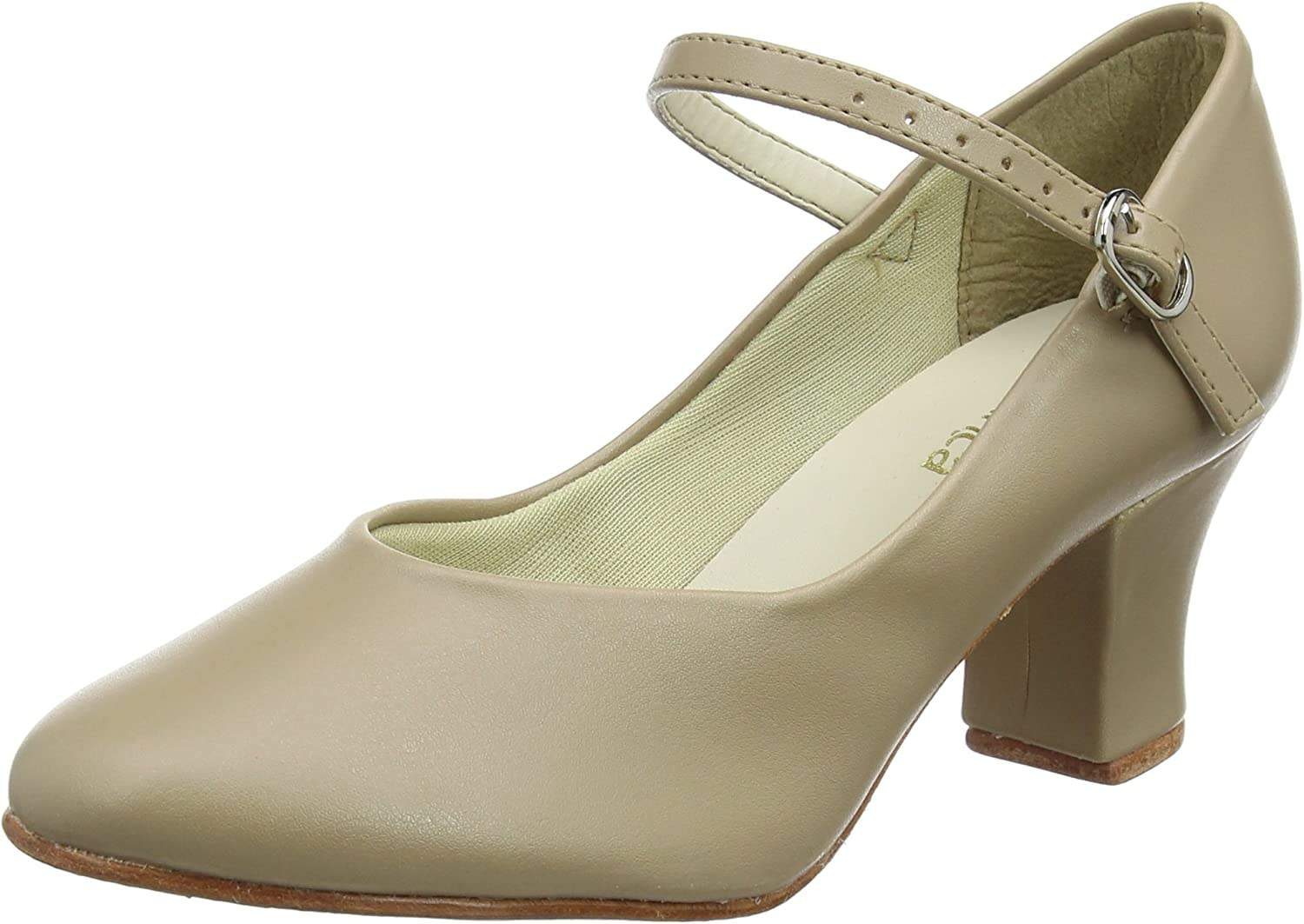 So Danca CH52 2'' Heel Character shoes Tan
