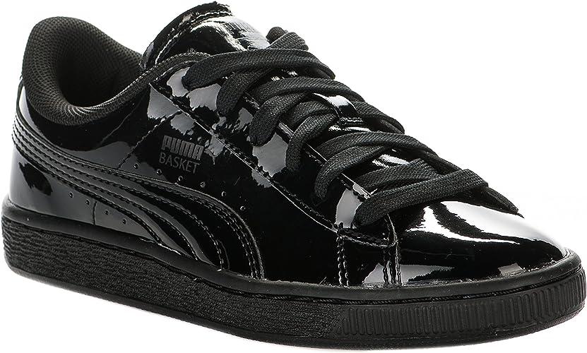 PUMA Chaussures Femme Noir Verni - Millim : Amazon.fr ...