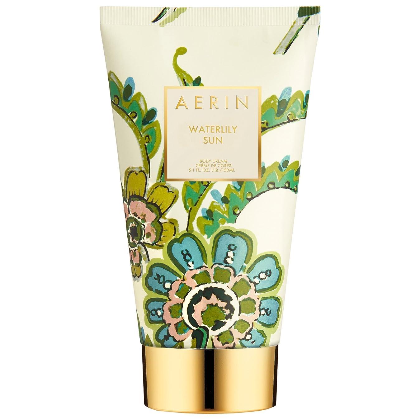 台風フィルタ透けるAerinスイレン日ボディクリーム150ミリリットル (AERIN) (x6) - AERIN Waterlily Sun Body Cream 150ml (Pack of 6) [並行輸入品]