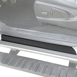 Red Hound Auto Custom Fit 2015-2019 Compatible with GMC Canyon Crew Chevy Colorado Cab 6pc Kit Door Sill Entry Guards Scratch Shield Paint Protection Guard