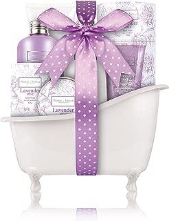 Winter in Venice Lavender Mist Bath Gift Set - Luxury Pamper Spa Bath Gift Sets - Paraben Free