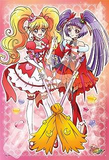 Japan Official Jigsaw Puzzle - Maho Tsukai PreCure Girls Ruby Style 108 Large Pieces Magician Pretty Cure Mirai Asahina Riko Sun Star Stationery
