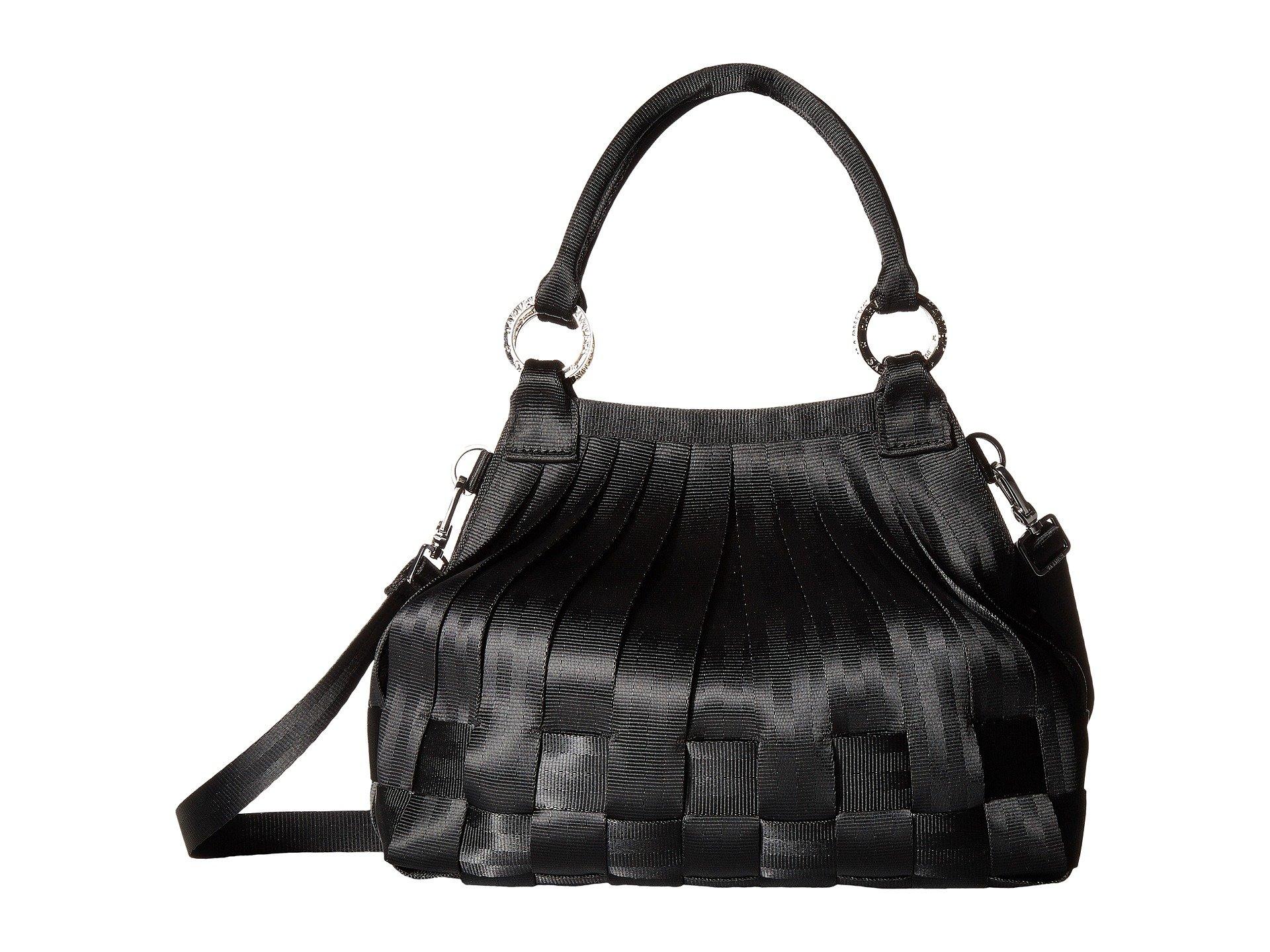 Black Harveys Hobo Stella 2 Seatbelt Bag Small wnqg8Xza
