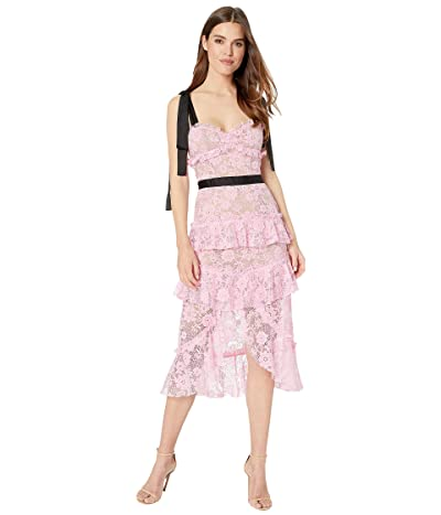 For Love and Lemons Iris High-Low Dress (Pink) Women