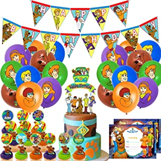 Scooby-Doo Party Supplies Vaisselle /& Décorations