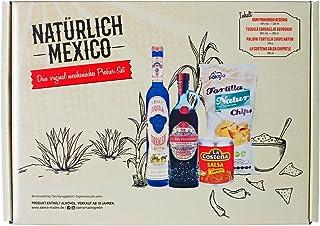 Mexikanisch für Anfänger - Das Probierset mit Corralejo Tequila, Ron Prohibido, La Costena Salsa Chipotle und Tortilla Chips