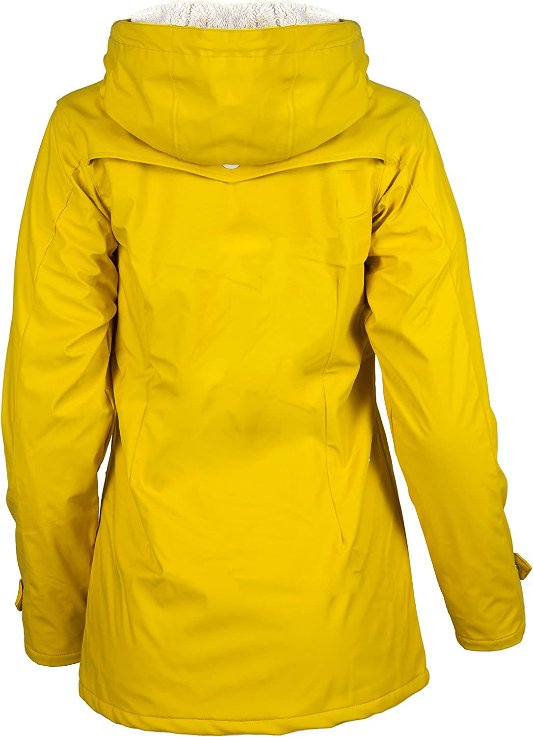 Derbe Damen Jacke Peninsula Cozy Jacket yellow