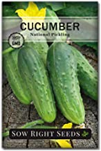 Sow Right Seeds - National Pickling Cucumber Seeds for Planting - Non-GMO Heirloom Seeds with Instructions to Plant and Gr...