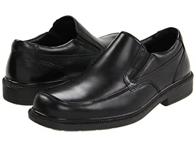 Hush Puppies Leverage (Black Leather) Men