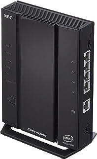 NEC Atermシリーズ AX3000HP [ 次世代規格Wi-Fi 6+安定通信機能 ] 親機単体 2ストリーム (5GHz帯 / 2.4GHz帯) 搭載型番:AM-AX3000HP