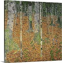 GREATBIGCANVAS Gallery-Wrapped Canvas The Birch Wood, 1903 by Gustav Klimt 10