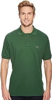 Men's Short Sleeve Classic Pique Polo Shirt Green 7