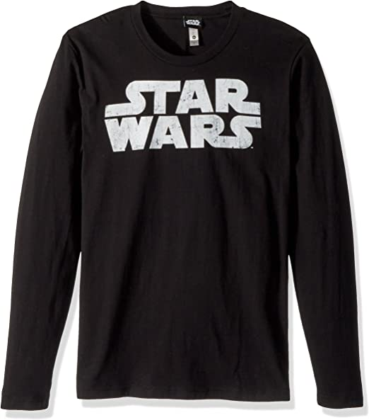 STAR WARS Camiseta gráfica de logotipo más simple para hombre