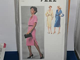 Simplicity Sewing Pattern 9222 Woman's Dress Size 8