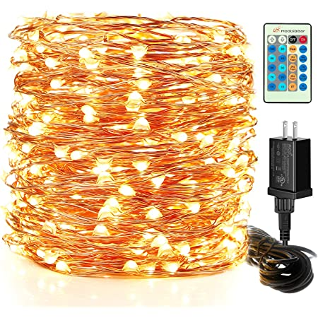 12V Mini LED Copper Wire String Fairy Lights Mains Plug in Party Xmas In//Outdoor