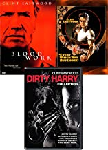 Man of Clint Movie 7 Eastwood Collection Dirty Harry Enforcer / Gauntlet / Dudden Impact / Magnum Force / Dead Pool + Blood Work + Every Which Way But Loose DVD Movie Bundle Feature pack