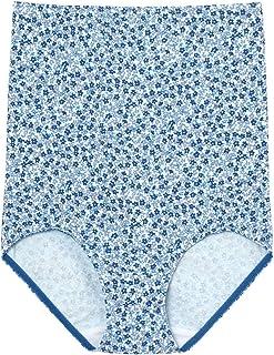 [ウンナナクール] ハラマキ付きショーツ 綿95% プチフローラルプリント
