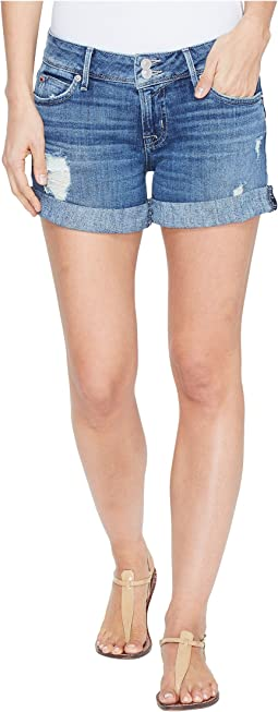 Hudson Croxley Mid Thigh Flap Pocket Shorts in High Hopes