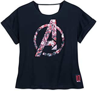 Marvel Avengers: Endgame Reversible Sequin T-Shirt for Women