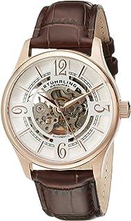 Men's 992.04 Legacy Analog Display Automatic Self Wind Brown Watch