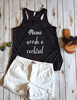 Mama needs a cocktail Women's Tank Top