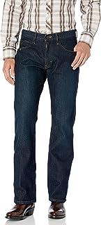 ARIAT Men's M5 Rebar Stretch Slim Fit Straight Leg Jean