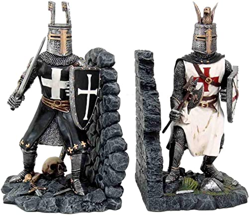 Médiévale Duel Chevaliers serre-livres Nemesis Now 25cm 25cm