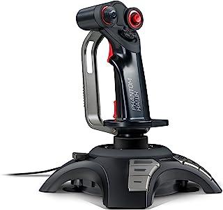 Speedlink PHANTOM HAWK Flight Stick   Joystick für PC/Computer   Controller für Simulator Spiele   USB   schwarz