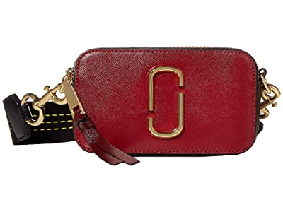 Marc Jacobs Snapshot (Cranberry Multi) Handbags