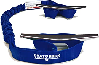 Boat Lines & Dock Ties Boat Dock Tie Bungee, Made in USA, 2-9 inch Loop Pack of 2- Made in USA